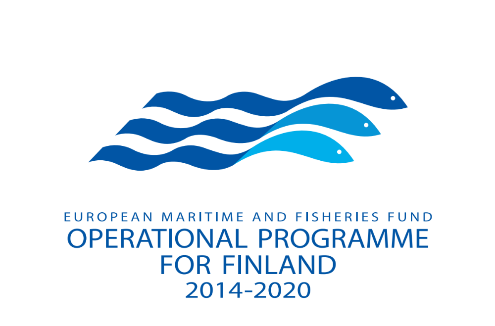 European Marime nd Fisheries Fund: operational programme for Finlanf 2014-2020 logo.